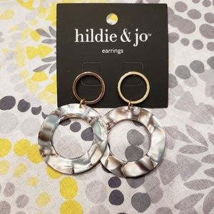 Hildie & Jo earrings! NWT